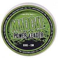Поводочный материал DAM MADCAT POWER LEADER 130kg/289lb 15m