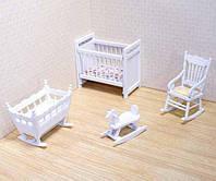 Набор для кукольного домика Melissa & Doug Мебель для детской комнаты (MD2585)