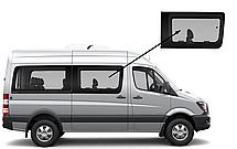Боковое стекло средняя база переднее правое Mercedes Sprinter 2006-2018