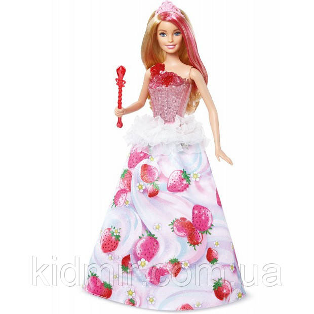 Лялька Барбі Дримтопия Цукеркова Barbie принцеса Dreamtopia Princess DYX28