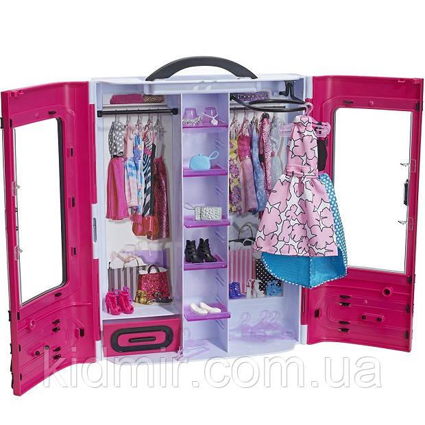Шафа валізу Барбі Рожевий Barbie Fashionistas Closet DMT57