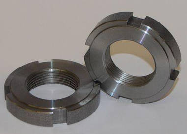 Гайка круглая шлицевая М16х1,5 DIN 1804 из нержавейки