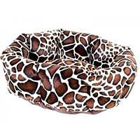 Лежак для собак и кошек Collar манеж меховой 60х50х20 см
