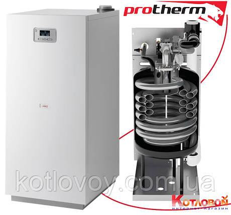 Напольный конденсационный газовый котёл Protherm Медведь Конденс, фото 2