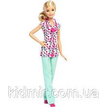 Лялька Барбі Медсестра Barbie Careers Nurse DMP54
