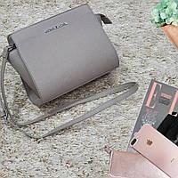 Женская маленькая сумка серая МК, фото 1