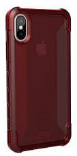Накладка, Чехол UAG Plyo Case для iPhone X [Crimson], фото 3