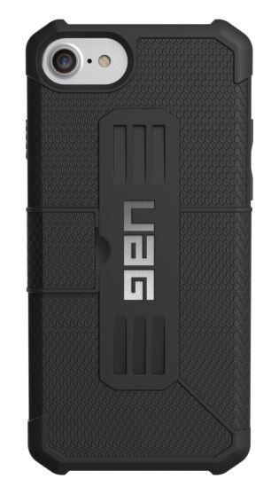 Книжкa UAG Metropolis Case для iPhone 8/7/6S [Black]
