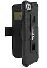 Книжкa UAG Metropolis Case для iPhone 8/7/6S [Black], фото 2