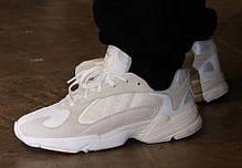 Женские кроссовки Adidas Yung 1 Cloud White/Footwear White, фото 2