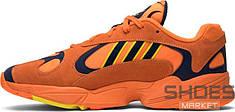 Мужские кроссовки Adidas Yung-1 Hi-Res Orange/Hi-Res Orange/Shock Yellow B37613, Адидас Янг 1
