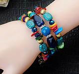 Женский браслет-пружина Primo Stone Cuff - Color, фото 4