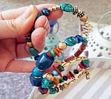 Женский браслет-пружина Primo Stone Cuff - Color, фото 3