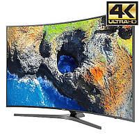 Телевизор Samsung UE55MU6642 (PQI 1600 Гц, Ultra HD 4K, Smart, Wi-Fi, DVB-T2,изогнутый экран)
