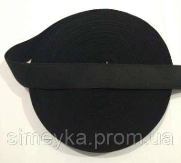Резинка для шиття, ширина 3 см. Чорна