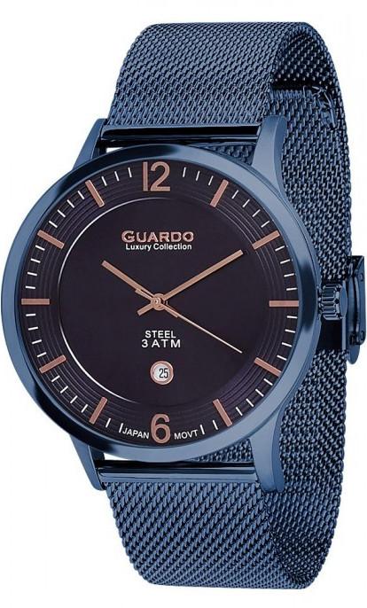Годинник GUARDO S01254(m) BlBl