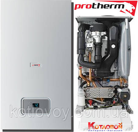 Конденсационный газовый двухконтурный котел Protherm Рысь Конденс, фото 2