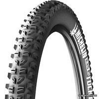 """Покрышка 26"""" х 2,1"""" (54 - 559) Michelin WildRock`R, черная"""