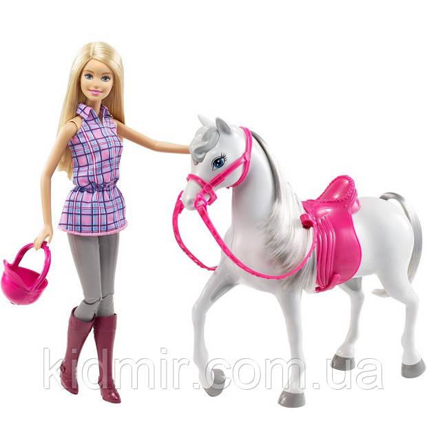 Кукла Барби и Лошадь Прогулка верхом Barbie Doll and Horse DHB68