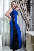 Платье женское больших размеров батал 601.1 гл $