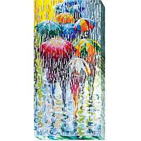 Набор для вышивания бисером на холсте АбрисАрт AB-434 Веселые зонтики