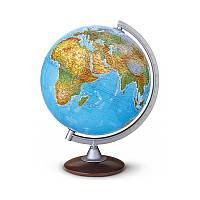 Глобус Atlantis с подсветкой на деревянной подставке 30см Tecnodidattica/Nova Rico (рус.)