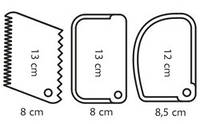 Набор скребков 3 шт( код 03430), фото 1