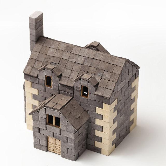 Конструктор з міні-цеглинок Анлійський будиночок