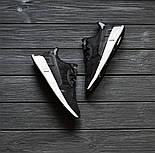 Кроссовки Adidas EQT Cushion ADV Core Black White. Живое фото. Топ качество! (Реплика ААА+), фото 9