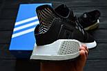 Кроссовки Adidas EQT Cushion ADV Core Black White. Живое фото. Топ качество! (Реплика ААА+), фото 2