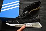 Кроссовки Adidas EQT Cushion ADV Core Black White. Живое фото. Топ качество! (Реплика ААА+), фото 8