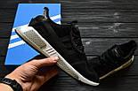 Кроссовки Adidas EQT Cushion ADV Core Black White. Живое фото. Топ качество! (Реплика ААА+), фото 3