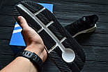 Кроссовки Adidas EQT Cushion ADV Core Black White. Живое фото. Топ качество! (Реплика ААА+), фото 5