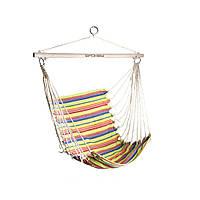 Гамак-кресло Spokey BENCH (original) 80 см, хлопок, дерево, гамак-качели