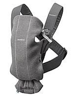 BabyBjorn - рюкзак-кенгуру для младенцев MINI 3D Джерси, темно-серый, фото 1