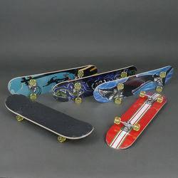 Скейт 3008 А колеса PU, d=5см, фото 2