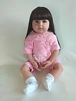 Кукла реборн Виола, с мягконабивным телом 60 см