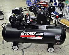 Компрессор Stark 30100 SAVB ременной (,2,2 кВт, 310 л/мин, 100 л)