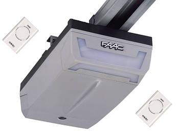 Комплект автоматики для гаражних секційних воріт FAAC D600