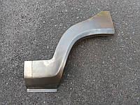 Ремонтная рем вставка (арка) крыла заднего левого ЗАЗ- 1103, Славута  короткая