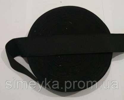 Резинка для шиття, ширина 4 см. Чорна