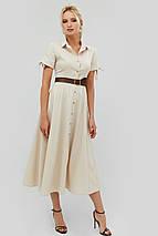 Женское летнее расклешенное платье-рубашка (Indes crd), фото 2