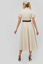 Женское летнее расклешенное платье-рубашка (Indes crd), фото 3