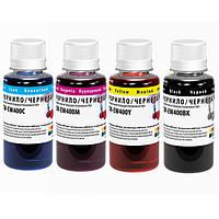 Комплект чернил ColorWay Epson T26/C91, 4x100 мл + Чернила CW-EW400BK01 в подарок ! (CW-EW400SET01/EW400BK01)