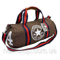 Спортивная сумка-бочонок Converse All Star  для спортзала, 1001926, спортивные сумки мужские, купить спортивную сумку