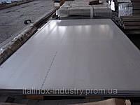 Нержавеющий лист AISI 321 (08X18H10T) 1,5 Х 1250 Х 2500