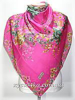 Натуральный платок Сюзанна, фуксия