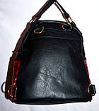 Женский рюкзак с глитером серебро 18*20 см, фото 3