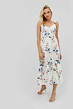 Вискозное летнее платье миди с цветочным принтом (Rous crd), фото 2