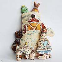 Подарочный набор елочных игрушек. Сказка Рукавичка.